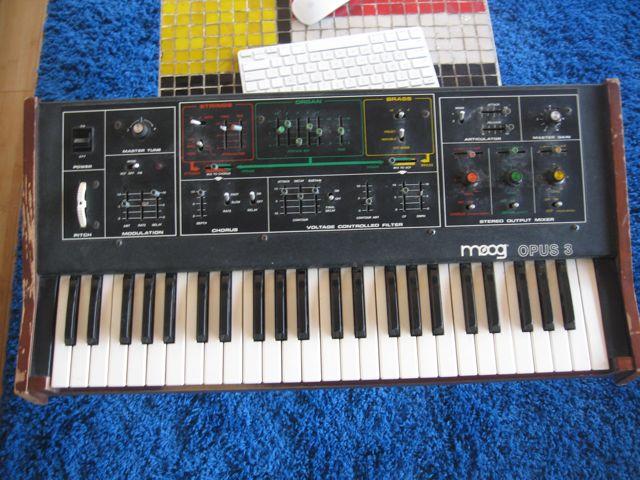 Moog Opus 3: 20 years in a damp basement
