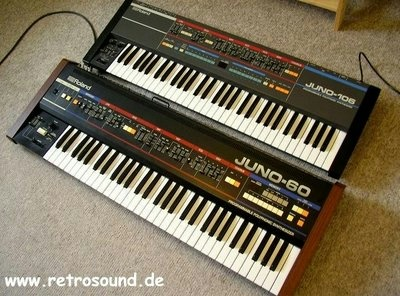 Roland Juno 106 with Juno 60