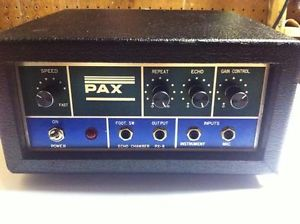 PAX PX-8 Front Panel